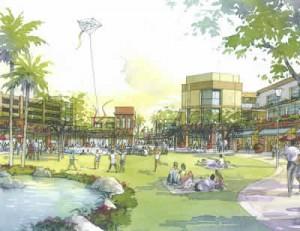 Bisno\'s plans for Baldwin Park