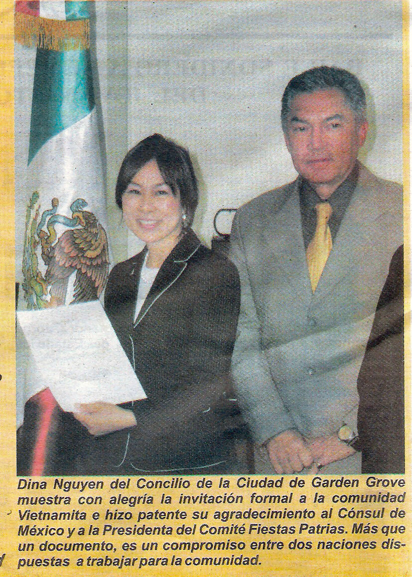 Failed Supervisorial Trannie Dina Nguyen stopped by the Mexican consul's office to apologize for her trip to the border with Assemblyman Van Tran. You remember that don't you? A plane […]