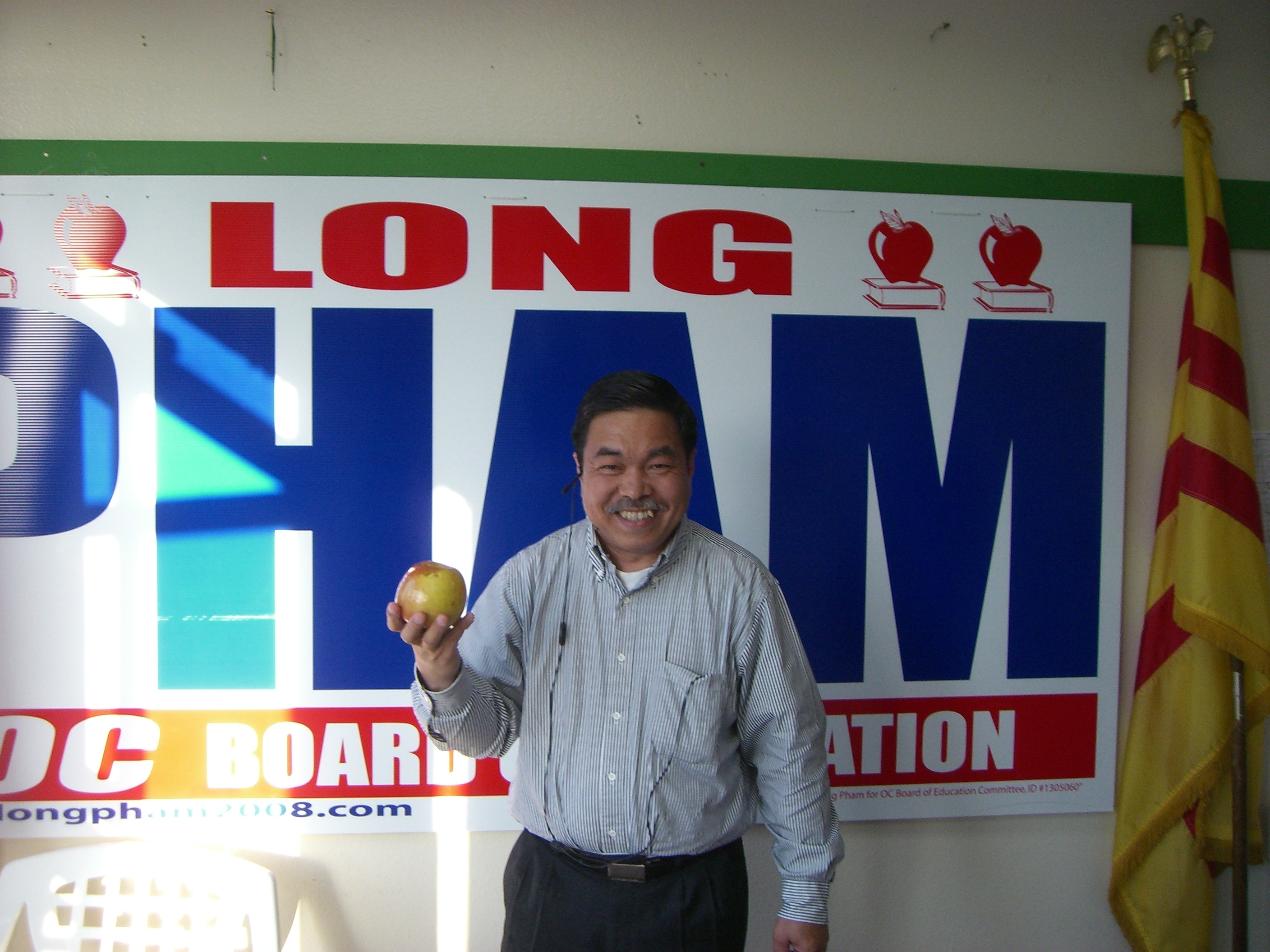 The final results for the June 3rd Primary have finally been posted. Long Pham, candidate for the Orange County Board of Education District 1 was elected to replace 4 term […]