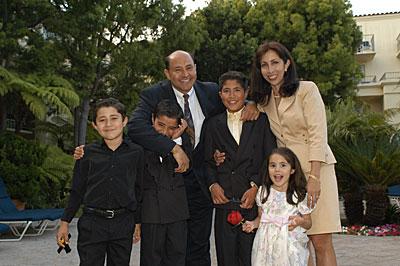Lou Correa and Family