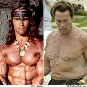 Not the same Arnold!