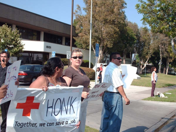 Laid off Santa Ana Unified School District instructional aides protested yesterday at SAUSD headquarters, over on Chestnut and Grand in Santa Ana. One of the protesters ended his hunger strike […]
