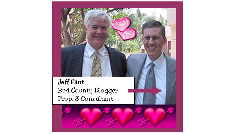 Jeff Flint, the Prop.8 consultant, defines marriage his way
