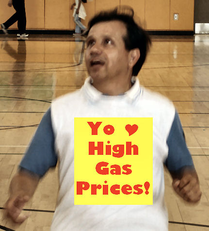 Pulido loves high gas prices!