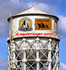 Why is there no sanctuary law in Santa Ana?