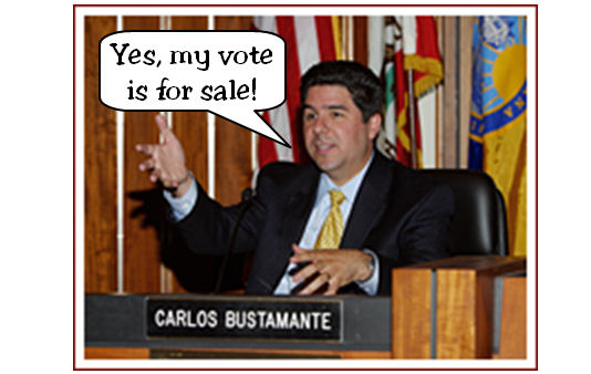 You can tell a lot about a candidate by looking at who donates money to him. Santa Ana Councilman Carlos Bustamante says he wants to be judged by his record, […]