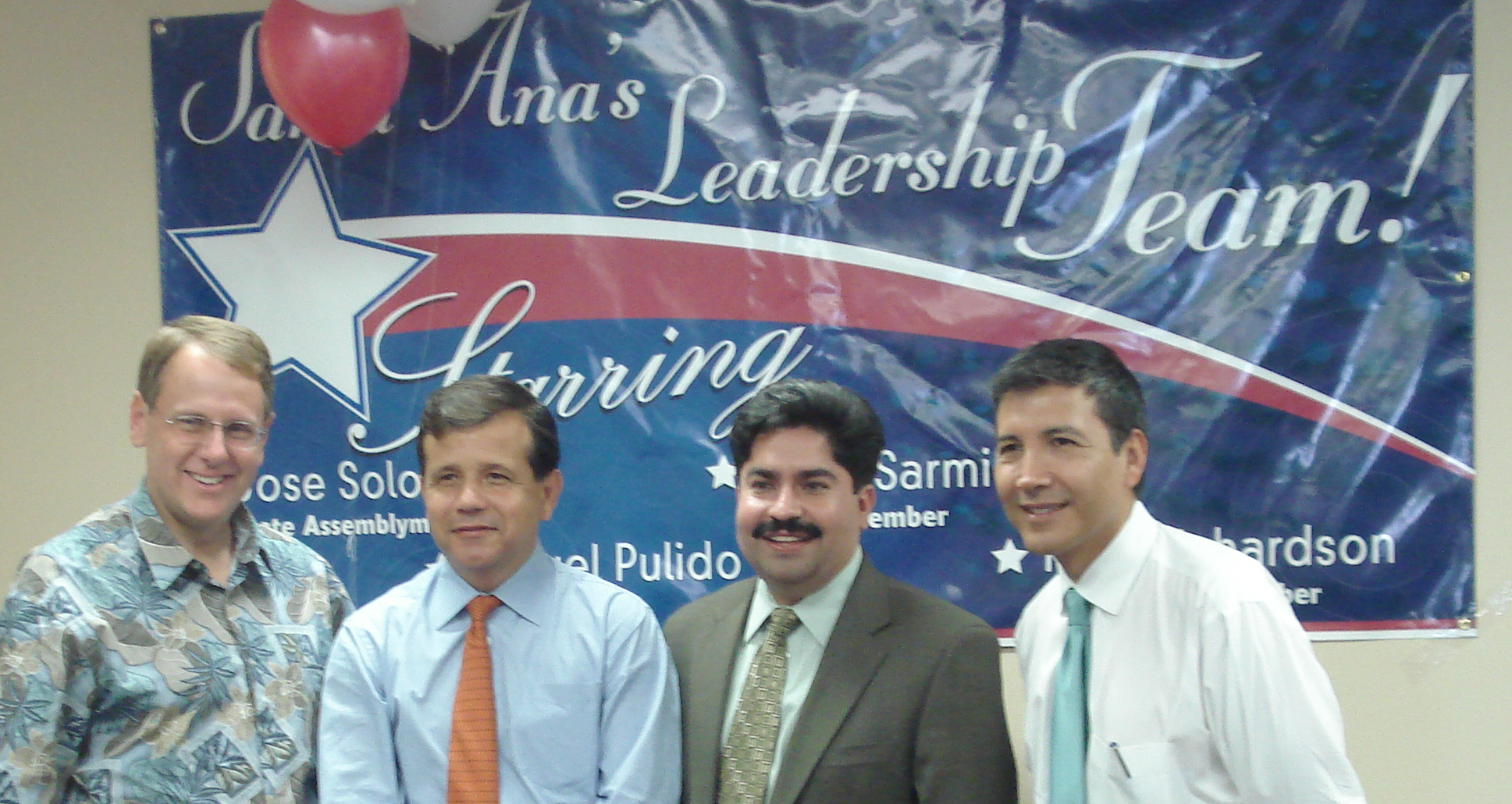 """I dropped by Assemblyman Jose Solorio's new Democratic """"Santa Ana Leadership"""" office on Saturday as they had their grand opening. Solorio was quite gracious. He introduced me to a few […]"""