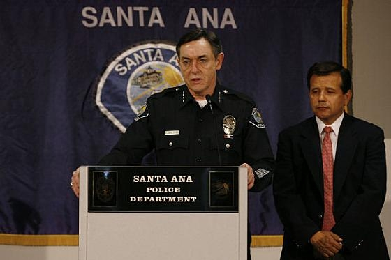 """""""Two Santa Ana gang members were arrested this morning in the shooting death of a 13-year-old boy, gunned down Wednesday while crossing a street with a group of friends near […]"""