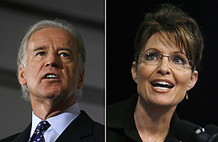 """(Picture Courtesy of Time Magazine) We all watched tonight's Vice Presidential debate to see if Joe Biden or Sarah Palin would stumble. But Time Magazine rated them both a """"B."""" […]"""