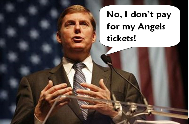 Anaheim Mayor Curt Pringle sued the owner of the Angels, Arte Moreno, when their name was changed to the Los Angeles Angels.  He said at the time that he would […]