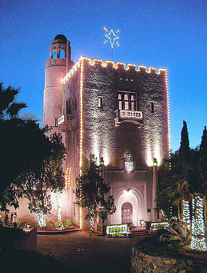 """Sorry I didn't post this story before the fact. Last night we attended the """"open house"""" with tour of the Spanish -Moorish Benedict Castle located off the 91 freeway in […]"""