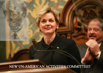 """Michigan Gov. Jennifer Granholm (D) said it was """"un-American"""" for senators to have voted against approving a bailout of troubled automakers last night, saying their vote may cause a recession […]"""