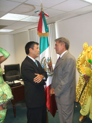 When Luis Miguel Ortiz Haro got the boot as the Mexican Consul in Santa Ana, Mexican President Felipe Calderon replaced him with a former Ambassador, Carlos Rodriguez y Quezada.  Haro's […]