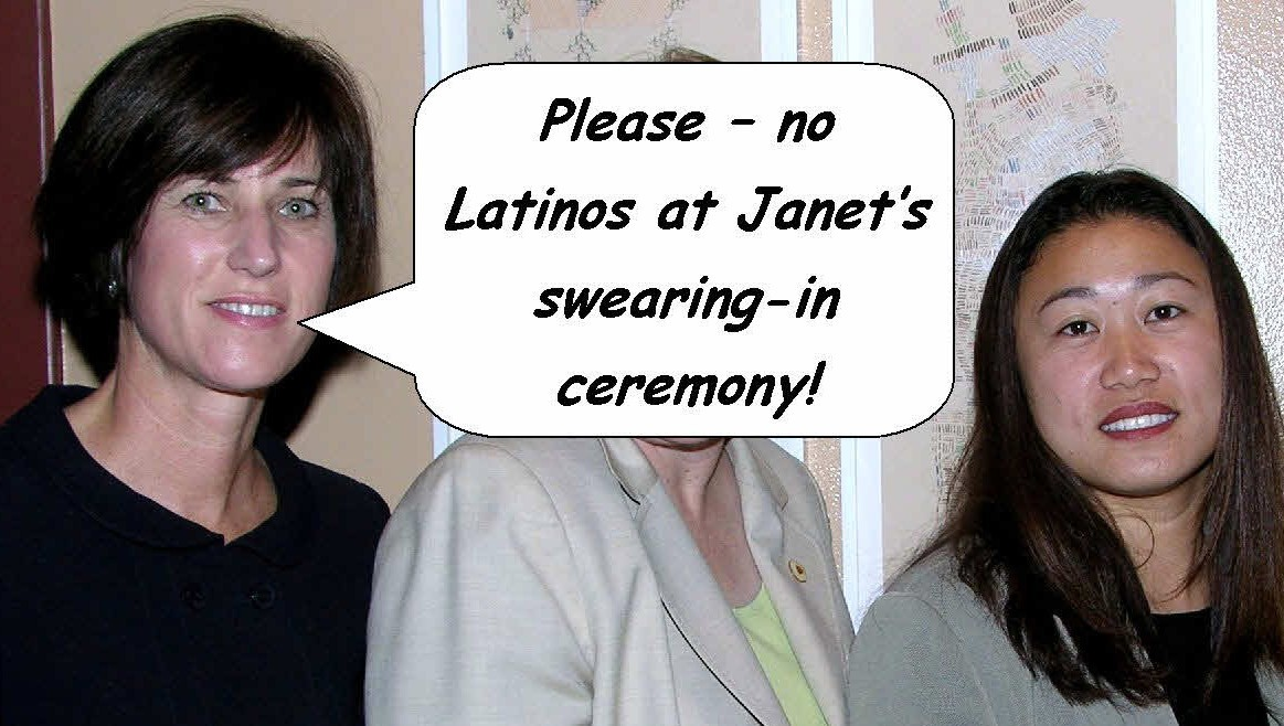 O.C. Supervisors Janet Nguyen and Bill Campbell will be sworn in on January 13, by Mexican bashing State Senator Mimi Walters (see the graphic below).  Nice.  What a slap to […]