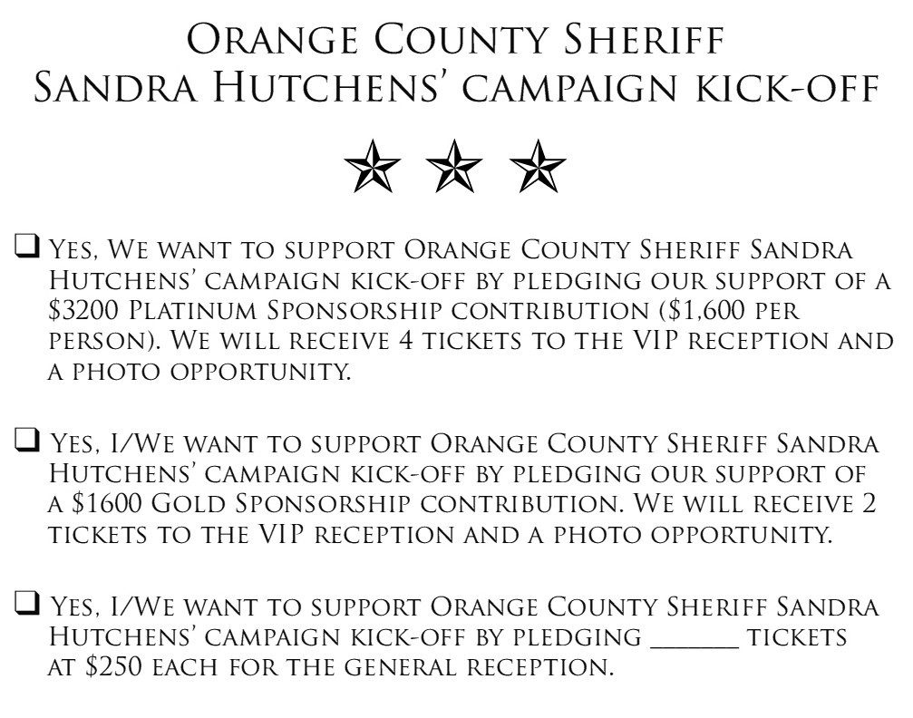 Editor's Note: We ran this post exactly one year ago. Now, some are saying that disgraced former Sheriff Mike Carona's supporters are backing one of the current candidates for O.C. […]