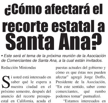 """What do Santa Ana Councilman Vince Sarmiento and Assemblyman Jose Solorio have in common? Well, for one thing they were both members of """"Team Pulido"""" last year, but they also […]"""