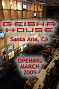 house santa Geisha ana in