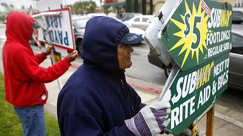 (Picture Courtesy of the L.A. Times) Do civil rights still matter in Huntington Beach? The City Council in Surf city voted 5-2 to ban human signs – even though the […]