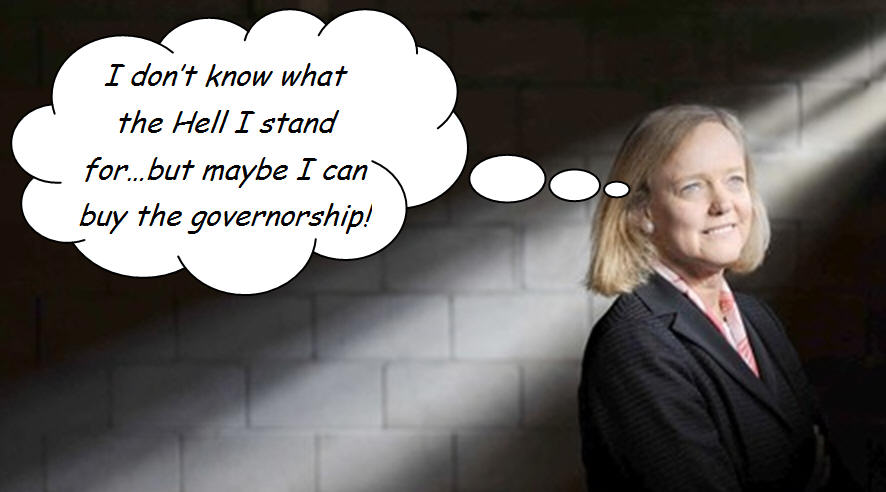 Oh my. I knew that Republican gubernatorial candidate Meg Whitman had issues, but now I am completely aghast, having read an interview with her in the L.A. Times. She contradicts […]