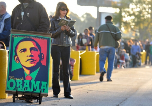 (Picture Courtesy of the O.C. Register) Orange County residents waited for hours to get tickets to see President Barack Obama tomorrow when he appears at the Orange County Fairgrounds, in […]