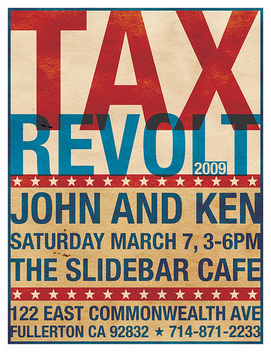 IsFullerton ready for a John and Ken invasion? The Tax Revolt 2009 Facebook page has announced a huge protest to be held in Fullerton, as follows: On Saturday, March 7th, […]