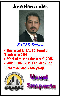 This week's fourth series of the Santa Ana Usual Suspects trading cards features several of the worst SAUSD Trustees – these are the folks responsible for what is the worst-run […]