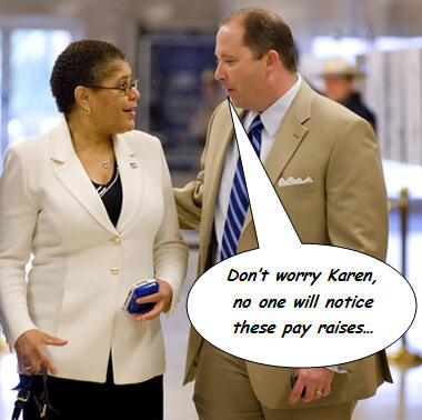"""""""State Assembly leaders Wednesday rescinded $551,000 in pay raises recently awarded to 136 legislative staffers, acknowledging that the pay hikes sent the wrong message at a time when the state […]"""
