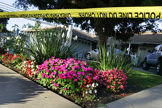 """(Picture Courtesy of the O.C. Register) """"An 18-year-old man has been arrested in connection with the stabbing and shooting death of his girlfriend's mother, who was found inside her home […]"""
