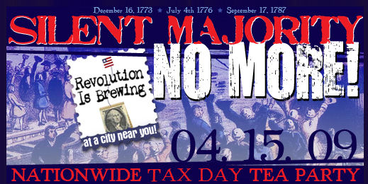 Just a quick note reminding you to mark your calendars and plan to attend one of the 44 Tax Day Tea Parties being held in our state on April 15th. […]