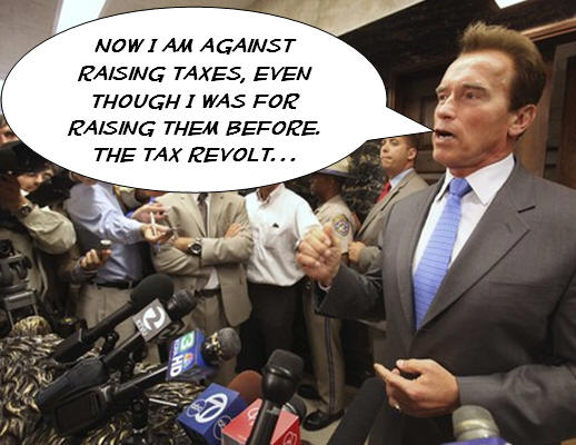 """How should we solve our budget crisis? Vote for up to three of the choices below, in our survey: [poll id=""""192″] """"Gov. Arnold Schwarzenegger told the leaders of the Assembly […]"""