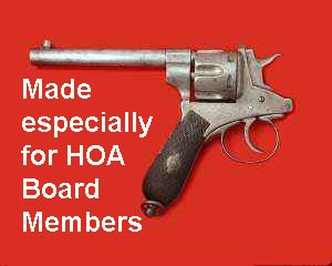 Stanley Fiala, a long time reader/contributor to the Orange Juice blog, questioned me on the vast powers of homeowner associations, HOA's. This is not the first time I have been […]