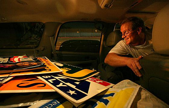 Libertarian Norm Westwell has signs ready to go for his H.B. City Council campaign (Picture Courtesy of the O.C. Register) There are four seats opening up on the Huntington Beach […]