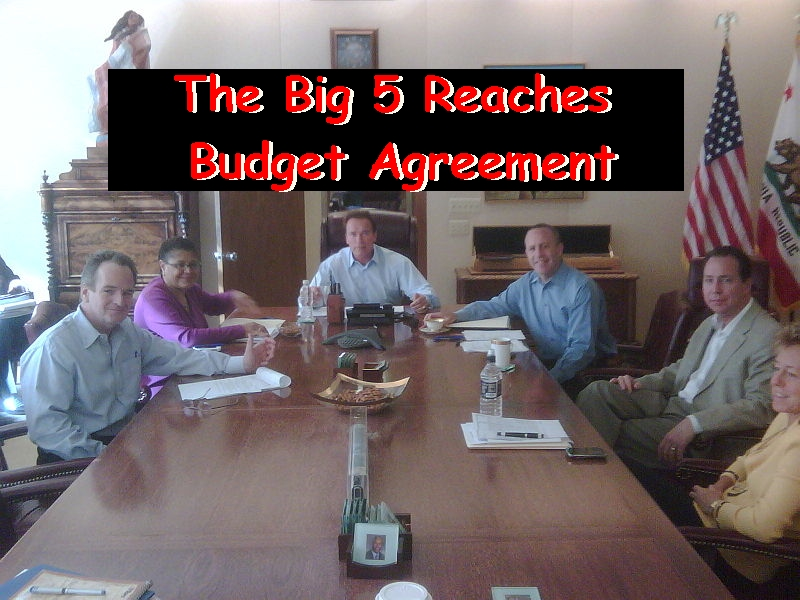 """Budget Breaking News: The """"Big 5″ has reached a deal…floor vote likely on Thursday. For complete details read on…."""