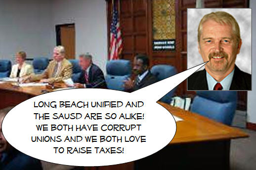 The Santa Ana Unified School District and the Long Beach Unified School District have much in common, including lame school boards and corrupt school administrations and teachers unions. For awhile...