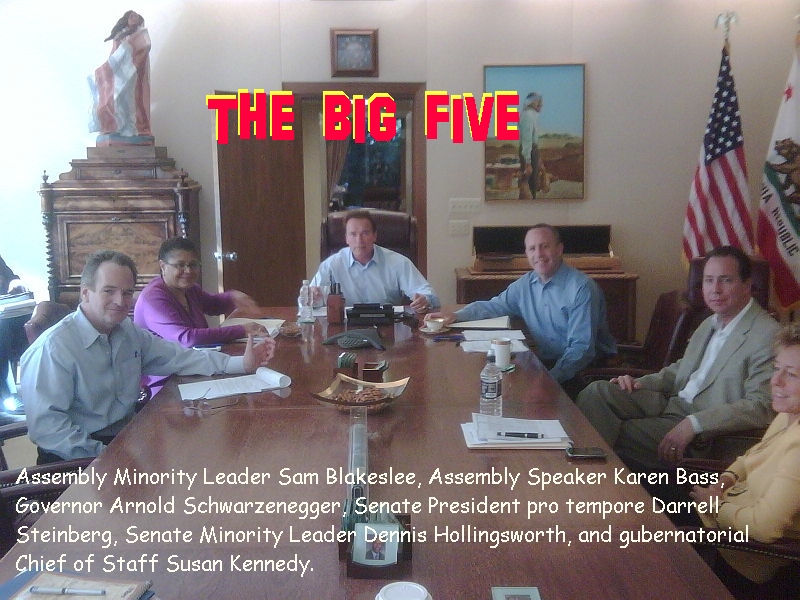 Budget Update: The Big 5 are disagreeing on Education Funding. It appears that they must cut $11 billion from Education. Karen Bass and the Democrats are not willing to do […]