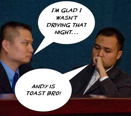 """[poll id=""""222″] """"Councilman Andy Quach, who was charged with driving drunk in connection with an Aug. 2 traffic accident, made a surprise appearance at Wednesday's council meeting and made a […]"""