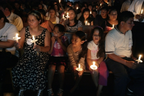 "If these innocent people look threatening to you, then you are a hater! Picture Courtesy of the O.C. Register ""More than 500 people gathered for a prayer candlelight vigil yesterday […]"