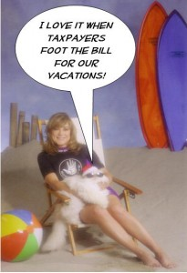 Loretta Sanchez uses fed funds to go on vacation
