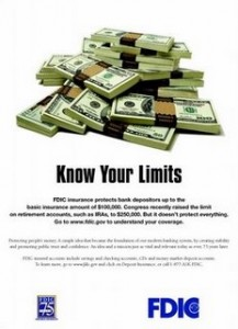FDIC Know Your Limits