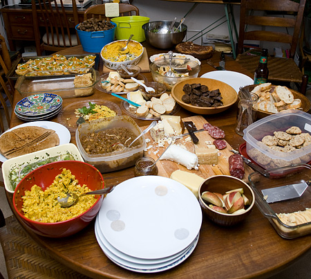 When I was a kid the church we used to go to always had a potluck after the sermon. We went to a Spanish speaking church and the minister was […]