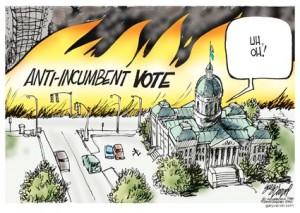 anti-incumbent vote