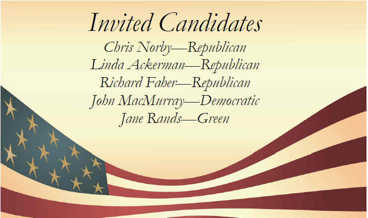 72nd AD Candidates Forum