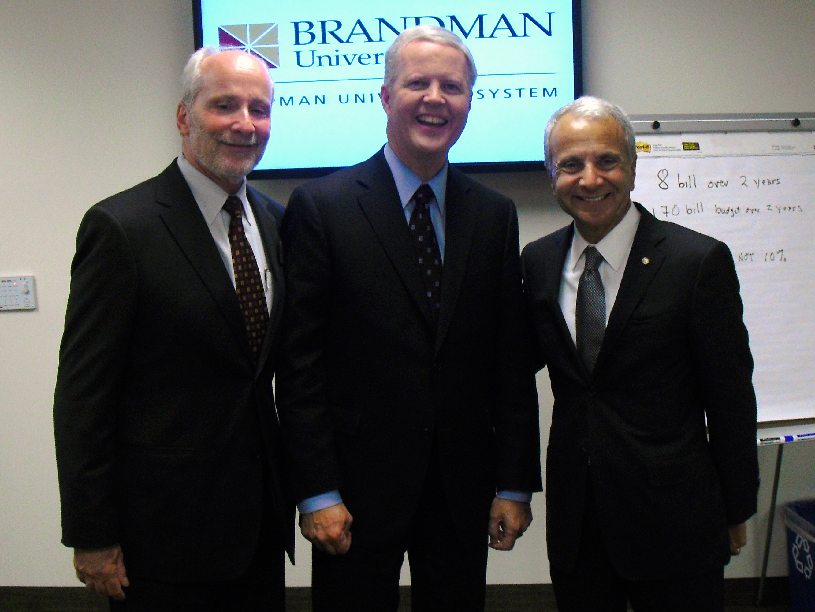 Tom Campbell was welcomed with open arms by Chapman University's leaders tonight Tonight's televised and online debate, at Brandman University in Irvine,between GOP gubernatorial candidates Steve Poizner and Tom Campbell […]