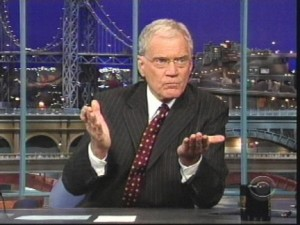 David Letterman is a pervert