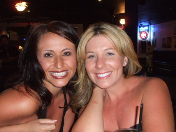 Desiree Mouzoon and her pal