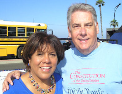 """John MacMurray and La Habra Councilwoman Rose Espinoza """"The 72nd Assembly District is heavily GOP — the Secretary of State's most recent tally shows about 43 percent registered Republicans and […]"""