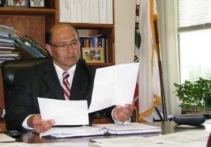 Lou Correa at work