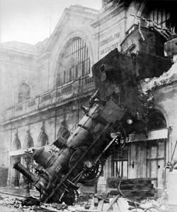 Sacramento Train Wreck