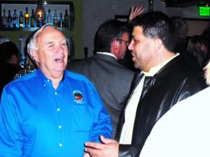 Bill Campbell and Jon Fleischman