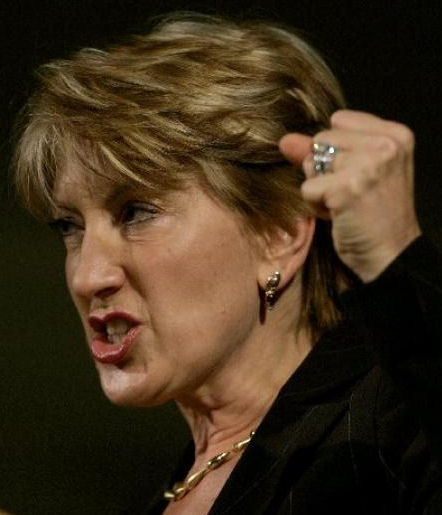 Carly Fiorina is angry